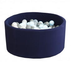 Сухой бассейн Airpool детский (темно - синий)