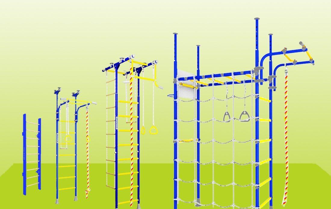 Конструкция шведской стенки