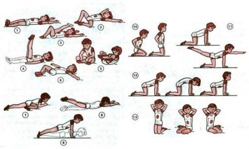 Упражнения для позвоночника для детей 10-12 лет