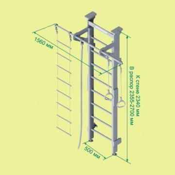 Размеры шведской стенки и еще 5 параметров которые помогут ее выбрать
