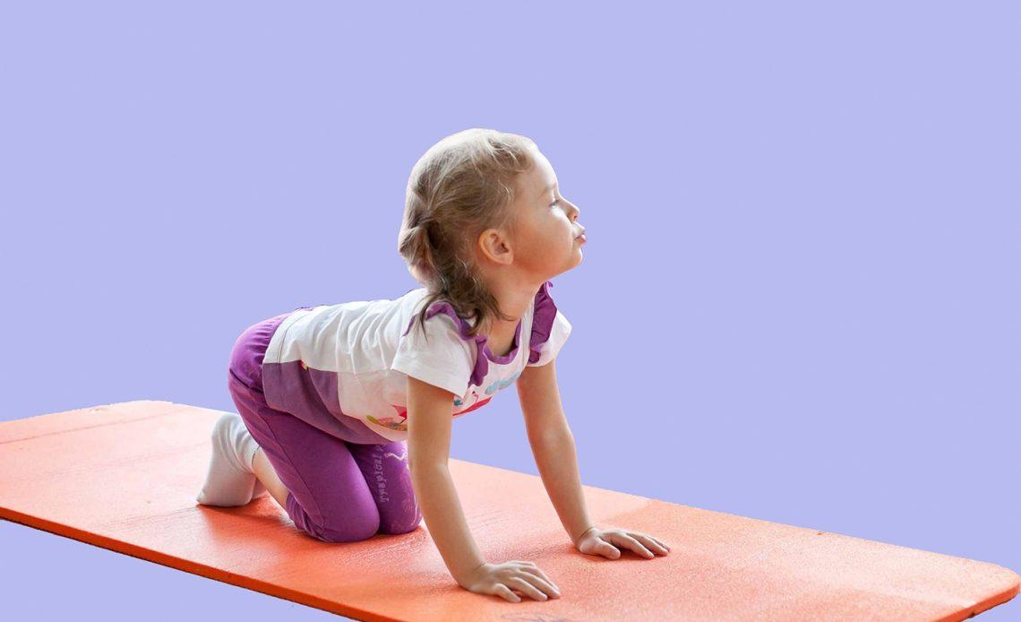 Упражнения для осанки для детей