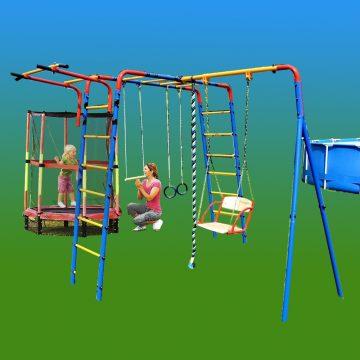 Секреты обустройства детской площадки на даче