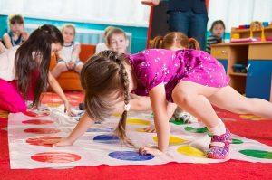 Игра для детей Запутаться в клубок