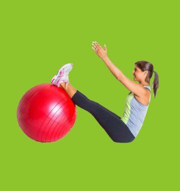 Упражнения для всего тела с фитболом: 75 лучших элементов