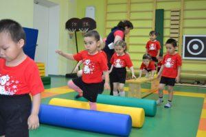 Деский фитнес в детском саду