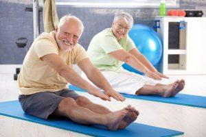 Растяжка для пожилых от 70 лет