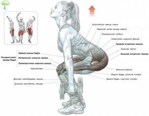 упражнение мертвая тяга