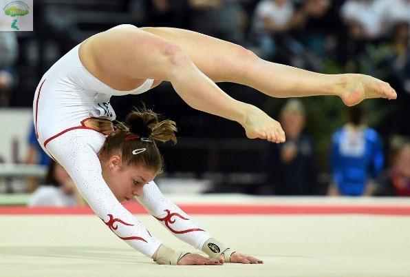 спортсмены художественной гимнастики
