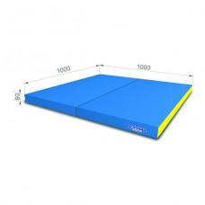 Мягкий щит (Мат) 1000*1000*60, в 2 сложения
