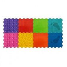 Набор состоит из 8 пазлов с разным рельефом и цветами