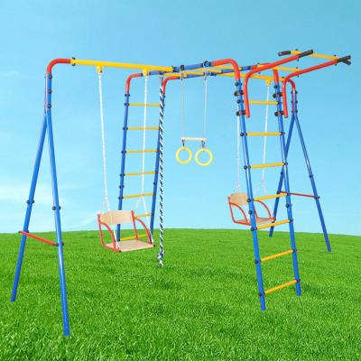 Детский уличный игровой комплекс для дачи Двойняшки