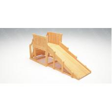 Зимняя деревянная горка САВУШКА Зима Wood-1