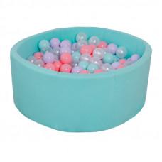 Сухой бассейн Airpool детский (бирюзовый)