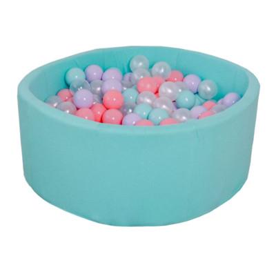 Сухой бассейн с шариками для дома Romana Airpool (бирюзовый)