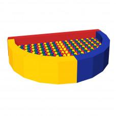 Сухой бассейн с шариками «Ломтик»