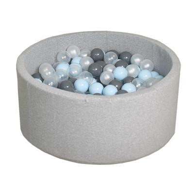 Сухой бассейн с шариками для квартиры Airpool (серый)