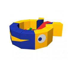Сухой бассейн с шариками «Кит»