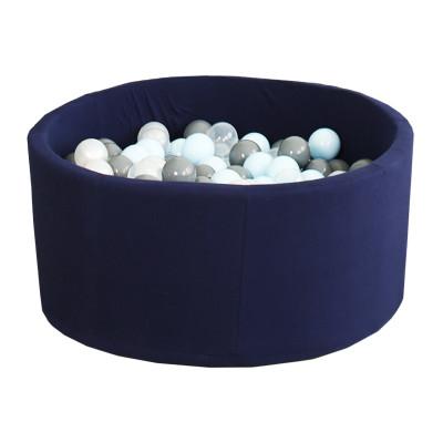 Детский Cухой бассейн с шариками Airpool  (темно - синий)