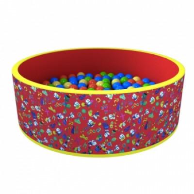 Сухой бассейн «Веселая поляна» 100 шариков