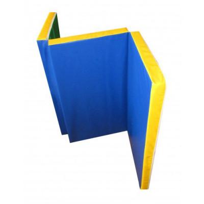 Мат для гимнастической стенки 150х100х6 см складной