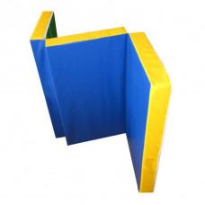 Мат гимнастический 1.5х1х0.1 м складной
