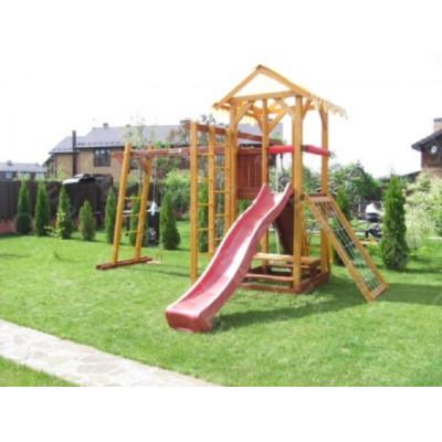 Детская площадка из дерева Савушка 1